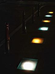 colmar@night - light pollution (dan.boss) Tags: poles dark lightpollution floorlamps colmar alsace france