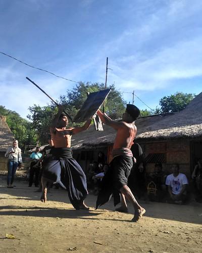 Hanya sang pemberani yang berani melakukan hal ini, tari adat suku Sasak bertarung menggunakan pemukul rotan. #brave #traditional_fight #fight #sasak #ende #lombok #petarung #pesonaindonesia  @tripindo  @indonesiatraveler @indotravelovers  Location: suku