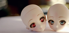 heads (Dollymoe) Tags: dollfiedream anime faceup doll canon t4i 50mm dollfie super sonico