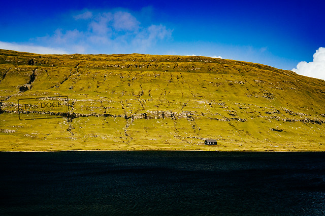 A house by the lake - Faroe Islands