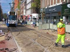 straight ahead (streamer020nl) Tags: tram strassenbahn 24 bolstraat cuypstraat rails tramlijn line 826 gvb fluit flute clock klok