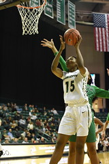WBasketball-vs-North Texas, 1/26, Chris Crews, DSC_4934 (PsychoticWolf) Tags: 49ers basketball charlotte cusa d1 green mean ncaa ninermedia north nt texas unc uncc unt womens