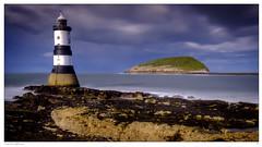 Trwyn Du Lighthouse (jeremy willcocks) Tags: 25417 lighthouse wales trwyndu penmonpointanglesey colour landscape puffinisland sea longexposure clouds jeremywillcocks wwwsouthwestscenesmeuk fujixpro2 xf1024mm