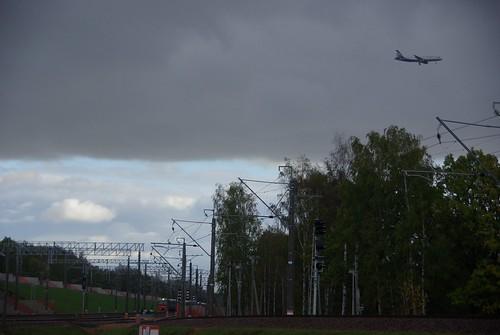 Sheremetevo airport railway line