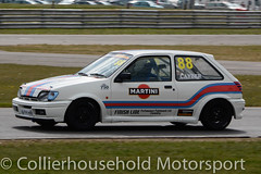 Classic Stock Hatch - R2 (21) Matt Cayzer (Collierhousehold_Motorsport) Tags: 750mc 750motorclub 750 snetterton snetterton300 classicstockhatch gti peugeot citroen vauxhall saxo stockhatch ford
