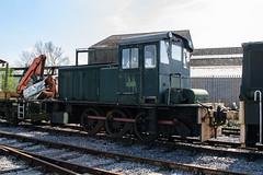 D1186 Peak Rail 090417 (Dan86401) Tags: d1186 hudswellclarke 060 060dm dieselmechanical shunter peakrail