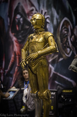C3PO - Sideshow Collectibles (Greg Larro Photography) Tags: sideshow collectibles toy toys action figure figures display detail star wars celebration orlando 2017 swco starwars lucasfilm disney greg larro photography photograph photo droid c3po protocol