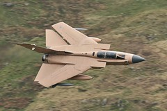 GRANBY (Dafydd RJ Phillips) Tags: zg750 granby storm desert operation loop mach tornado gr4 panavia jet fighter aviation marham raf force air royal snowdonia level low iraq 1991