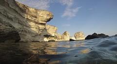 Bonifacio (Gopro) (EvenHarbo) Tags: gopro corsica korsika corse cliff france frankrike ocean mediterraneansea bonifacio