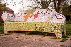 Art (_michelwalbeek_) Tags: art outdoor sony bench bankje kunst