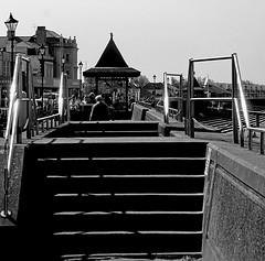 _DSC06314_Seaside Stairs ii (Ian Gearing) Tags: seaside burnhamonsea burnham sea side somerset west england uk street furniture beach severn estuary river
