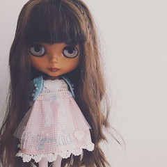 North is at home.And I love her so much. ~ #blythe #tbl #custom #cafeaulaitfamily