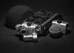 A sound upgrade (Keith Williamson) Tags: zoom recorder digital h6 comparison upgrade microphones stereo xlr recording sound concerts handheld