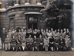 Smiling Group University College London c 1950 (Bury Gardener) Tags: blackandwhite bw oldies old vintage portrait group 1950s 1950 smiles