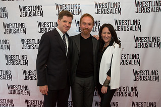 Dylan Kussman (director), Aaron Davidman (actor), Sara Schwartz Gellar (producer)