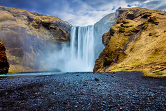 Magical Iceland (rachel15fuller) Tags: nature landscape travel iceland water waterfall long exposure mountain clouds beautiful tourist rock view natural light country world scenic cloudy adventure rural weather explore volcano earth photography planet beauty fall falls daylight
