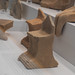 Locri, Grotta Caruso: miniature terracotta thrones