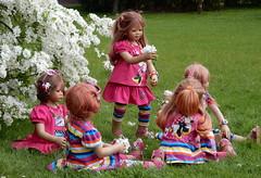 Den Frühling genießen ... (Kindergartenkinder) Tags: grugapark essen kindergartenkinder blüte baum garten blume park sanrike tivi annemoni margie frühling annette himstedt dolls milina leleti reki