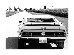 vanishing points... (Stu Bo) Tags: canon certifiedcarcrazy classiccar coolcar car canonwarrior chrome sexonwheels 1sweetride 1ofakind 1971mustangmach1 freedom fun fordmustangmach1 beautiful blackandwhite bw bnw goodtimes musclecar machine mustanglust idreamofcarsmotorsandhorsepower ilovemycar oldschool ride rebel rearend dreamcar sbimageworks shadows showcar sunlight vintagecar vintageautomobile monotone nocolor