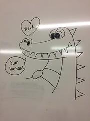 Happy Croc (freelancing god) Tags: railscamp northernterritory mountbundystation railscamp21