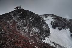 Monte Escrivà (Strocchi) Tags: etna sicilia sicily monteescrivà vulcano snow neve trekking canon eos6d 24105mm italia italy black rocks rocce nere