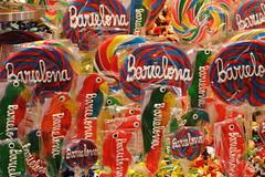 LA BOQUERIA (Andrew Mansfield - Sheffield UK) Tags: spain espana barcelona market street people foodmarket laboqueria sweets stjoseplaboqueria