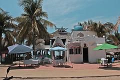 Shark (bransilva) Tags: playa zicatela oaxaca beach surf shark restaurant mar palm arena sol calor mexico mexican colors blue aqua marina holy week holyweek santa fiesta