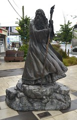 The Roxy Cinema (Neal D) Tags: wellington newzealand miramar roxy roxycinema statue gandalf