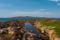 Wee Cumbrae (TroonTommy) Tags: ayrshire ayrshirecoast castle island landscape portencross scotland wee cumbrae