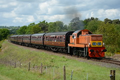 D9551 Foley Park 18/05/2017 (Brad Joyce 37) Tags: d9551 foleypark severnvalleyrailway diesel locomotive engine train passenger sushine nikon d7100