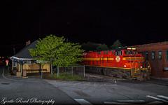 Original N&S meet Black Mountain (grady.mckinley) Tags: black mountain north carolina norfolk southern railroad depot station railway heritage original