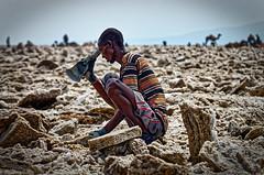 Salt Works 1 (Fotografie mit Seele) Tags: äthiopien ethiopia volcano vulkan dallol danakildepression salz salt schwefel sulphur kristalle mineralien