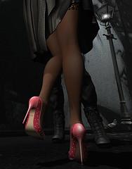 N-core Photo Contest 2017 – Lone Twist (LoneSolitarian) Tags: ncore ncoredesign shoe shoes second life secondlife sl virtual dark light shadow art firestorm gimp photography windlight photo sim 3d night nightlife romance romantic flirt fling