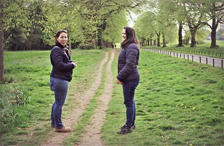 Canon EOS 60D -  Katherine and Lisa at Long Ashton