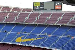 Camp Nou 8 (Seán Creamer) Tags: barcelona spain campnou football soccer uefa catalonia iniesta messi fcbarcelona ladislaokubala ballondor championsleague europeancup goldenboot valdés xavi puyol guardiola cruyff ramos mésqueunclub laliga