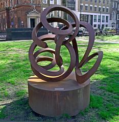 Slithery Ways (Russtafa) Tags: sculpture art artwork publicart