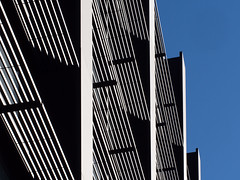 incident (Cosimo Matteini) Tags: london cosimomatteini ep5 olympus pen m43 mft mzuiko60mmf28 architecture building lines light blue sky metal incident
