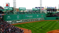 Fenway Park, Green Monster (bpephin) Tags: boston fenway mlb baseball game redsox citgo wall monster foxwoods