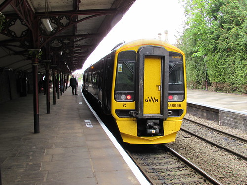 Great Malvern: FGW Class 158 (Worcestershire)