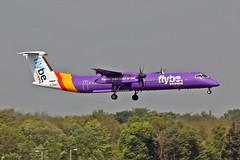 G-PRPC DHC-8Q 402 MAN 11-05-17 (PlanecrazyUK) Tags: egcc manchester man ringway manchesterairport gprpc dhc8q402 110517