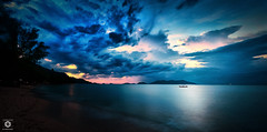 ~ The Sun is Calling You ~ (Chirag Khatri) Tags: nikon d7200 thailand kohchang island pano panorama ocean sea boat long exposure sky blue colorful calm peace earth travel longexposure light sun water nature landscape seascape divine breeze tamron tamron1530 koh chang beach tranquility haida haidafilters nd3000 nd ndfilter smooth open horizon land meeting flickr heroes creative sail faraway far away nikonearth flickrheroes