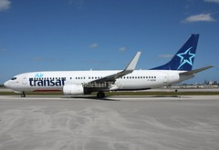 Air Transat                                       Boeing 737                            F-GZHE (Flame1958) Tags: 5039 airtransat airtransatb737 boeing737 b737 737 flap2017 kfll fll fortlauderdaleairport fortlauderdale 100217 0217 2017 fgzhe