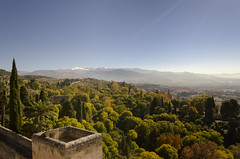 Mountains of Granada (rschnaible) Tags: alhambra granada spain espana europe sightseeing tour tourist history historic landscape view peaceful