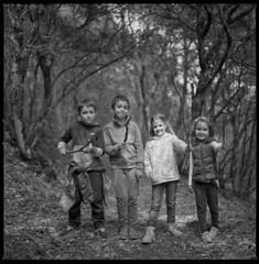 The undergrowth company IV (ukke2011) Tags: hasselblad503cw planarcfe8028 ilforddelta100 selfdeveloping rodinal film pellicola 6x6 square 120 bw mediumformat