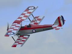 de Havilland DH-82 Tiger Moth K2585 (Fleet flyer) Tags: trainer biplane dh82tigermoth dehavilland dehavillanddh82 dehavillanddh82tigermoth moth tiger dh82 havilland de k2585 dehavillanddh82tigermothk2585