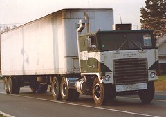 Early Ford W (PAcarhauler) Tags: ford coe cabover semi tractor trailer truck