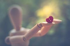 Follow your heart (Ro Cafe) Tags: edge80 edge80macro lensbaby heart mannequin button red light blur bokeh stilllife nikond600