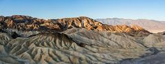 Zabriskie Point Panorama (Morten Kirk) Tags: mortenkirk morten kirk zabriskie point death valley california usa 2017 holiday vacation nature desert mountain landscape