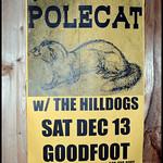 Polecat – Goodfoot Lounge, Portland, Oregon – 12/13/14