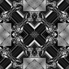 Yin Yang Black and White Seamless Tiles (ArtGrafx) Tags: artgrafx yinandyang tileseamless seamlesstile modern geometric geometrical design pattern designelemant metal metallic glass glaze desktoppicture desktopimage wallpaper illusion artdeco gloss shine glow surreal